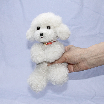 Ranran Poodle Plush Toy Poodle And Dog And Teacuppoodle Apricot