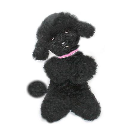 Ranran Poodle Plush Poodle Dog And Teacup Poodle Black