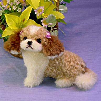シーズー ぬいぐるみ犬 ハンドメイド オリジナル プレゼント品 テディベア リアル 猫 癒しグッズ