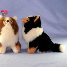 Ranran Shetland Sheltie Plush Sheltie And Dogs Model Is The