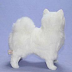 一般毛绒斯皮茨 / 博美犬吃饱的动物 / 狗/ジャパー 需要狮子狗 (S) 拉班
