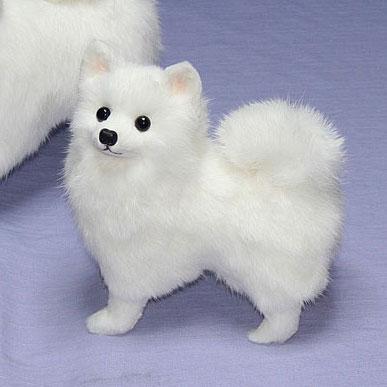 Ranran General Plush Spitz Pomeranian Stuffed Animal Dog