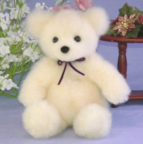 抱き型テディベア 毛皮ラム テディベア ぬいぐるみ クマ 誕生日プレゼント クリスマスギフト 日本製