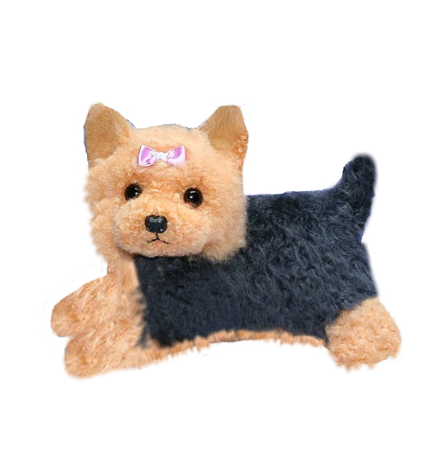 Ranran Yorkshire Terrier Stuffed Yorkshire Terrier Dogs And