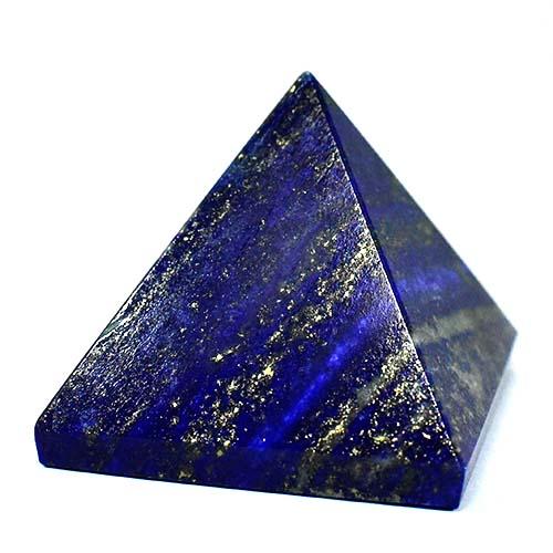 【一点物】天然ラピスラズリ ピラミッド 重さ:140g|アフガニスタン産|瑠璃石