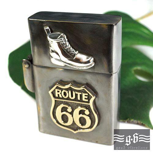激安/新作 【goodvibrations】ルート66(Route アンティーク 66) ブーツ ブーツ アンティーク ジッポ ライター|シルバー925|グッドバイブレーション 66)【送料無料】, カーテン ラグ マット 家具 装英:8111e6bd --- canoncity.azurewebsites.net