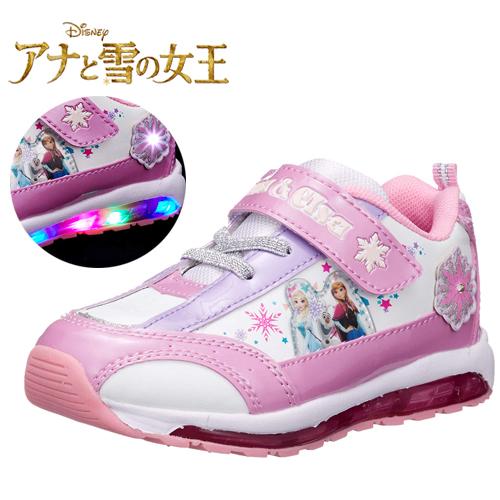 アナ雪から光る靴が新登場 限定 Disney ディズニー アナ雪 光る 靴 7406 グッズ エルサ 女児 女の子 子ども こども アナと雪の女王 最安値挑戦 点滅 シューズ 運動靴 18cm かわいい 19cm フラッシュ 16cm キャラクター キッズ 定番スタイル 光る靴 スニーカー 17cm プリンセス 15cm