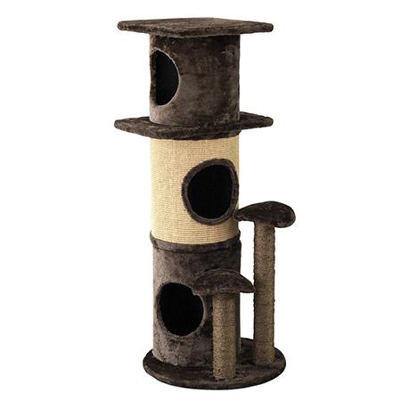 送料無料【PAW PAW CAT TOWER キャットタワー】ペット ねこ ネコ 猫 遊び場 タワー おもちゃ トンネル 柱 インテリア 運動 運動不足 ストレス解消