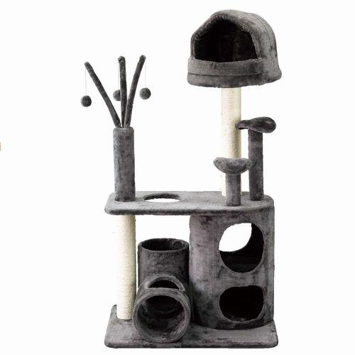 送料無料【PAW PAW CAT PLAYGROUND キャット プレイグランド】ペット ねこ ネコ 猫 遊び場 タワー おもちゃ トンネル 柱 インテリア 運動 運動不足 ストレス解消