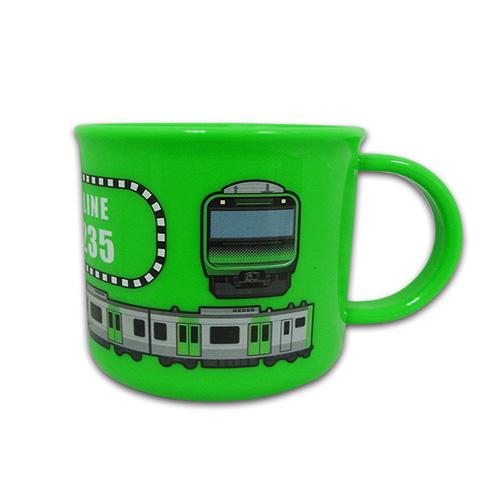 山手線がデザインされたカップ JR公認 新幹線 プラスチックカップ E235 山手線 キャラクター おもしろ雑貨 プレゼント 鉄道 プラカップ 鉄道グッズ 電車 安心と信頼 プラコップ カップ 《週末限定タイムセール》 コップ JR 食事 うがい 電車グッズ