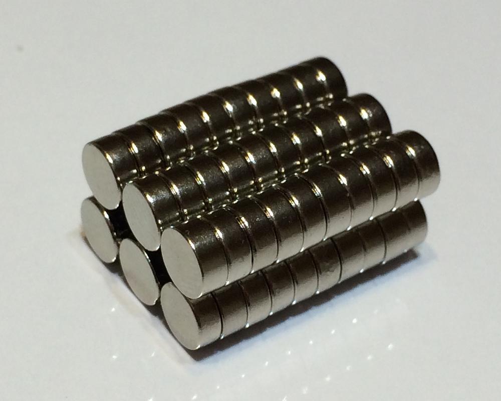 ネオジム磁石φ20mm×9mm(N35) 60個セットネオジウム 超強力 マグネット 強力磁石 永久磁石 いろいろ使えますリール改造・燃費アップ・フィギア・プラモデル・日曜大工・工作・DIY・紙留め・実験・手品・鳩よけ・手芸