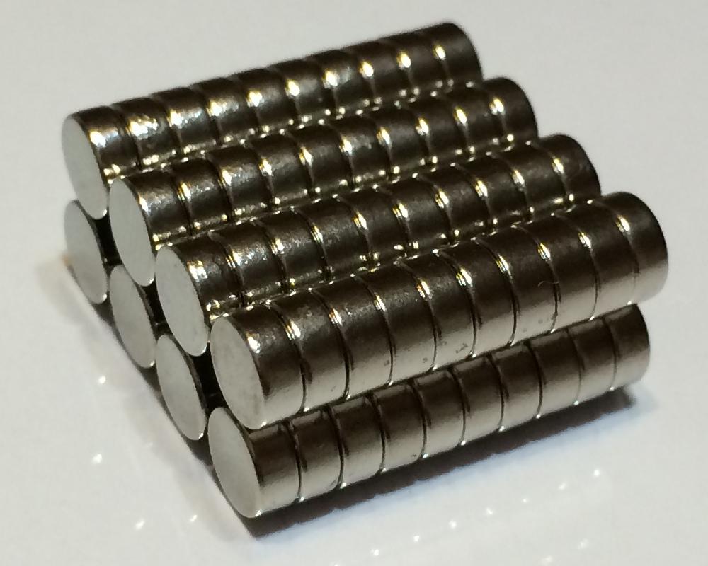 ネオジム磁石φ16mm×7mm(N35) 80個セットネオジウム 超強力 マグネット 強力磁石 永久磁石 いろいろ使えますリール改造・燃費アップ・フィギア・プラモデル・日曜大工・工作・DIY・紙留め・実験・手品・鳩よけ・手芸