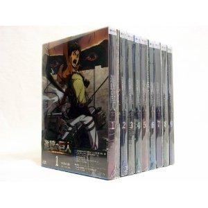 【中古】進撃の巨人 Blu-ray 1~9巻 全巻【送料無料】