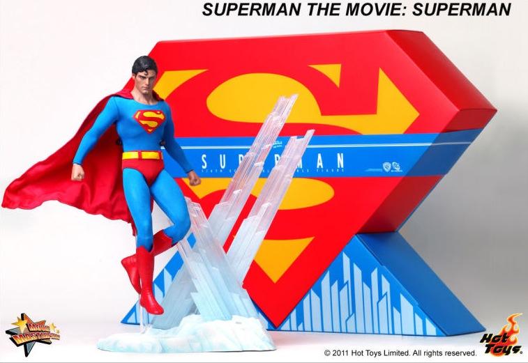 【中古】 ホットトイズ ムービー・マスターピース スーパーマン SUPERMAN THE MOVIE Hot Toys フィギュア