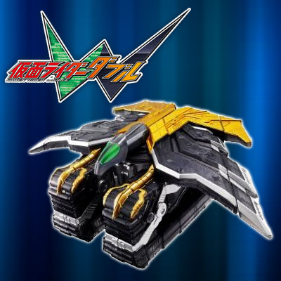 【新品】 仮面ライダーW ダブル 変身ガイア鳥 エクストリームメモリ ※箱にダメージあります。