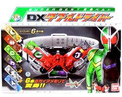 【新品】 仮面ライダーW 変身ベルト SUPER BEST DXダブルドライバー