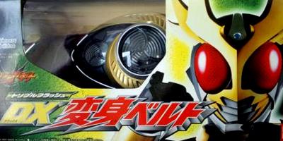 【新品】 仮面ライダーアギト トリプルフラッシュDX変身ベルト ※箱にダメージあります。