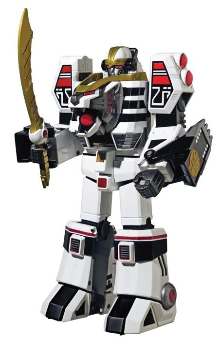 パワーレンジャー レガシー ホワイトタイガーゾード アクションフィギュア Power Rangers Legacy White Tigerzord [海外輸入品]