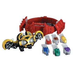 仮面ライダーキバ 変身ベルト&フエッスル DXキバットベルト 国内版 ※箱·説明書は欠品です、キズなど使用感ございます。【中古】[海外直輸入USED]