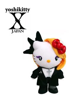 未使用品 ヨシキティ yoshikitty 公式サイト ぬいぐるみ JAPAN X YOSHIKI×ハローキティコラボ 初期バージョン 高品質