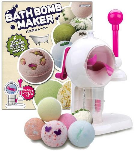 【新品】 バスボムメーカー 自分だけのオリジナル入浴剤が作れる!