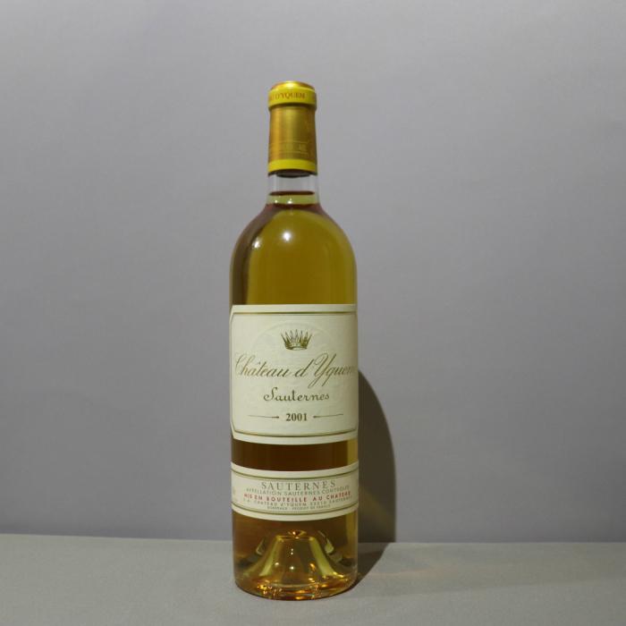 シャトー・ディケム[2001]ボルドー 白(貴腐ワイン)750ml パーカーポイント100点