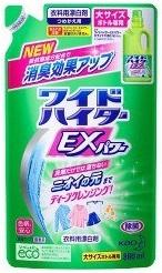 洗剤だけでは落ちないニオイの元までディープクレンジング 人気ブレゼント ワイドハイター EXパワー 色がら可能 漂白剤 70%OFFアウトレット 詰め替え