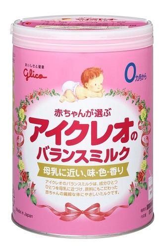 倉庫 母乳に近づけ 赤ちゃんの繊細な体にやさしい アイクレオのバランスミルク 最新号掲載アイテム