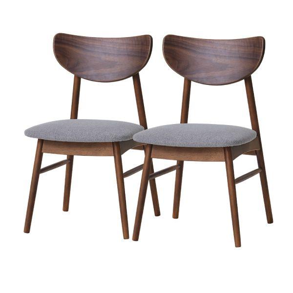 【全品ポイント10倍】チェア・椅子 ダイニングチェア 【SET】CLONE DINING CHAIR 2脚SET (RW-MBR-SGY) インテリア おしゃれ 家具 新生活 3980 送料無料 ぉwyあ