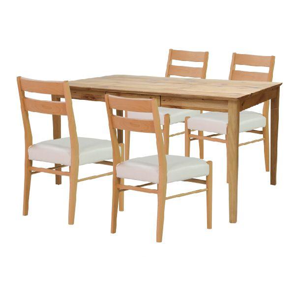 【全品ポイント10倍】ダイニングセット 【SET】ERIS PLUS DINING 5SET(TABLE135+CHAIRx4) (AL-NA FUSHIARI) インテリア おしゃれ 家具 新生活 3980 送料無料 ぉwyあ