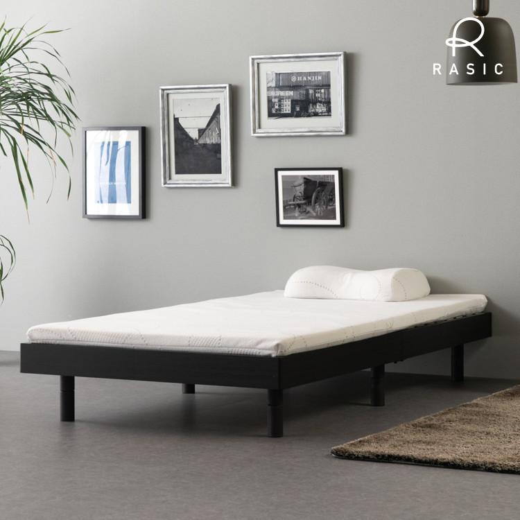 ベッド 寝床 フレーム 木製 すのこベッド NEDOQO BED ◆セール特価品◆ HEADLESS LEG-A MF-DBR 101-02802 S 売店 FRAME