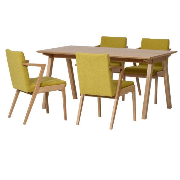 【全品ポイント10倍】ダイニングセット 【SET】SECCO DINING 5SET(TABLE+CHAIRx4) (OAK/TU51) インテリア おしゃれ 家具 新生活 3980 送料無料 ぉwyあ