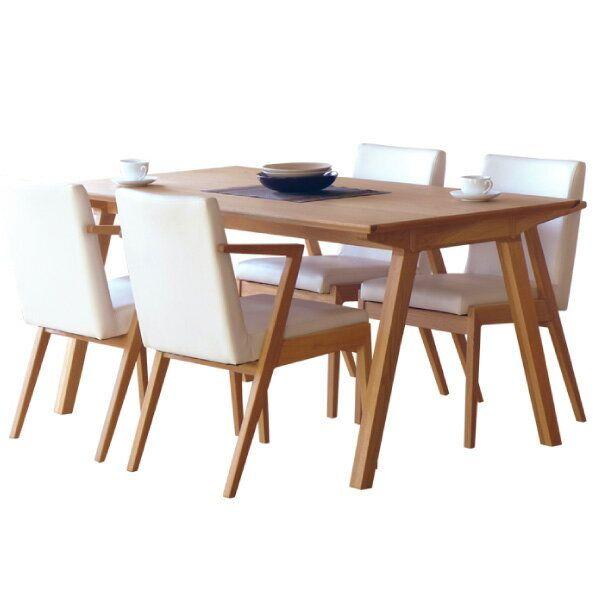【全品ポイント10倍】ダイニングセット 【SET】SECCO DINING 5SET(TABLE150+CHAIRx4) (OAK) インテリア おしゃれ 家具 新生活 3980 送料無料 ぉwyあ