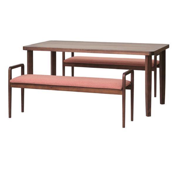 【全品ポイント10倍】チェア・椅子 ダイニングセット 【SET】LINEA DINING 3SET (WN-MBR-LBR) (10RS) インテリア おしゃれ 家具 新生活 3980 送料無料 ぉwyあ