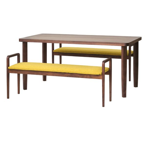 【全品ポイント10倍】チェア・椅子 ダイニングセット 【SET】LINEA DINING 3SET (WN-MBR-LBR) (51TU) インテリア おしゃれ 家具 新生活 3980 送料無料 ぉwyあ