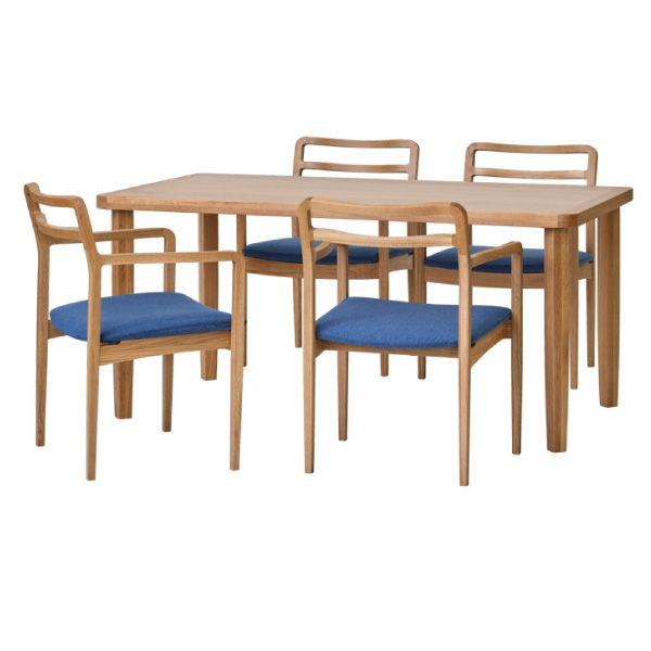 【全品ポイント10倍】チェア・椅子 ダイニングセット 【SET】LINEA DINING 5SET (WO-NA-WH) (21NBL) インテリア おしゃれ 家具 新生活 3980 送料無料 ぉwyあ