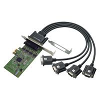 【3/27 0時~ 最大2000円クーポン&P2倍】4ポート RS-232C・デジタルI/O PCI Expressボード REX-PE64D