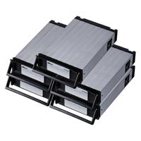 REX-SATA3シリーズ用 交換トレイ(5個入)(ブラック) SA3-TR5-BKX