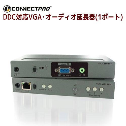 CONNECT PRO製 DDC対応VGA・オーディオ延長器(1ポート)) EOC-VA1-A