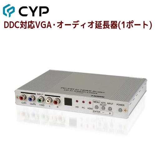 【6/24迄 P2倍&最大2000円クーポン】Cypress Technology製 高帯域対応デジタルビデオスケーラー HTCP-255H