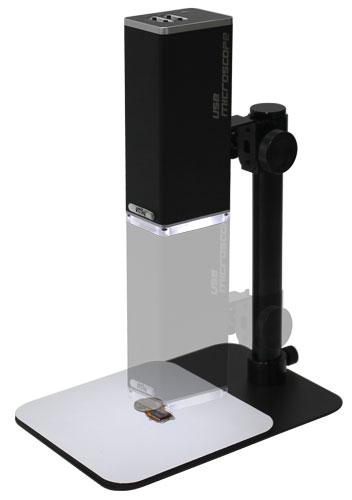 MicroLinks製 PC専用 スタンド付デジタル実体顕微鏡 UM12