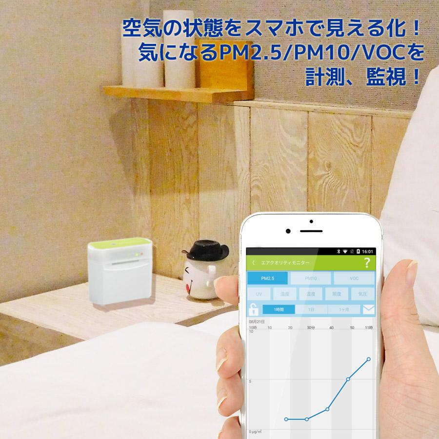 Bluetooth エアクオリティ モニター REX-BTPM25V