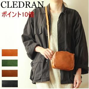 CLEDRAN クレドラン バッグ(◆今ならレザーケアセットプレゼント)( CL-3020 ショルダーバッグ ショルダーポーチ )クレドラン NOTRE SERIES MINI POCHETTE ショルダーバッグ( 商品番号 CLN-3020 )