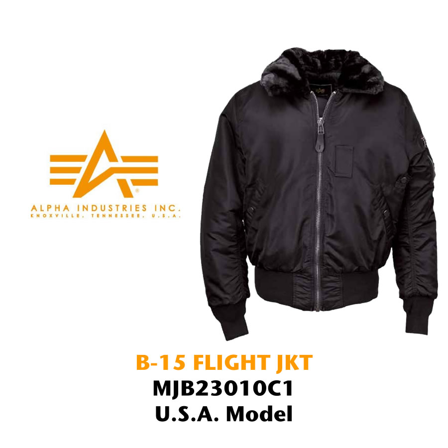 pick up 3cfb0 8060b ALPHA INDUSTRIES B-15 flight jacket import (B15 IMPORT military American  casual)
