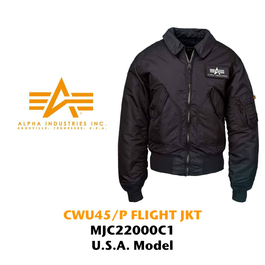 5671bb57cdeb RAY ONLINE STORE  ALPHA INDUSTRIES CWU-45 P flight jacket import ...