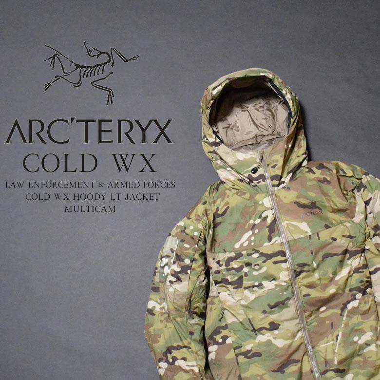ARC'TERYX アークテリクス LEAF COLD WX HOODY LT JACKET MULTICAM NEW リーフ コールドWX フードLTジャケット マルチカム NEWモデル