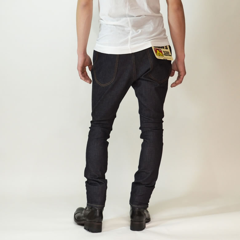 Ben Davis Project Line Hey Slim Indigo Tight Jodhpurs Made In Japan Project Rye Jodhpurs Software Sarouel Pants Non Washing Rigid Raw Denim Stretch Material