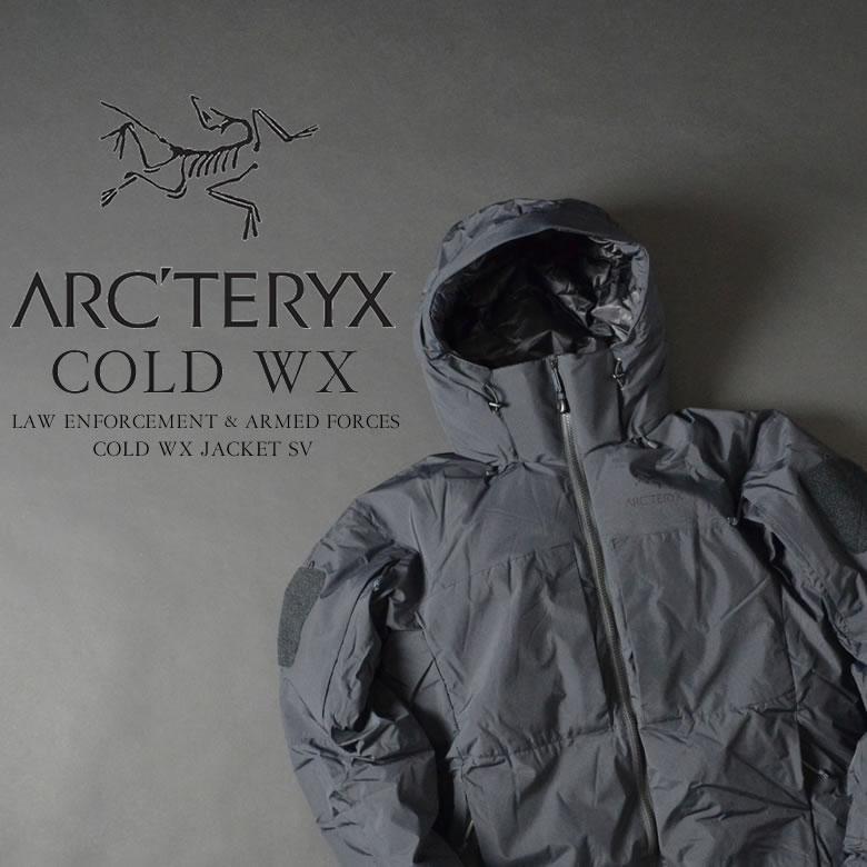 ARC'TERYX アークテリクス LEAF COLD WX JACKET SV NEW リーフ コールドWX ジャケットSV フード脱着 NEWモデル