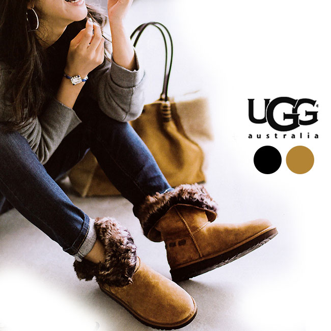 b7c5d91fd5f It is ◆ UGG W MEADOW (メドウ) # 1008043 regular article / mouton boots /  bootie / 2WAY/ Ferber gene [authorized relief]