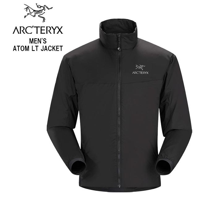 【Arc'teryx】アークテリクス 24478 MEN'S ATOM LT JACKET アトム LT ジャケット メンズ 中綿 ジャケット メンズ アウトドア フード キャンプ フェス ブラック